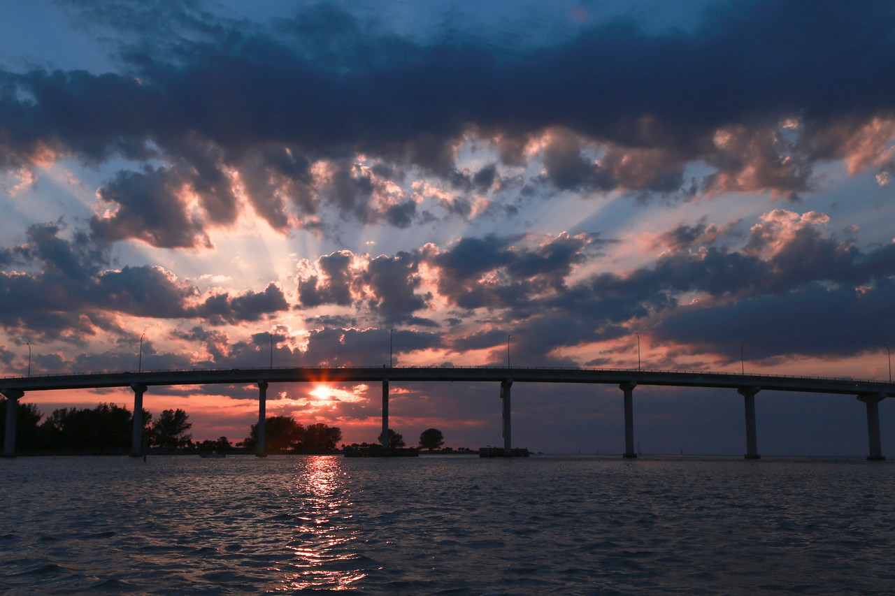Sand Key Bridge, Clearwater Beach, Florida